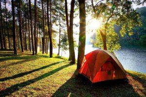 Tenting in Alaska