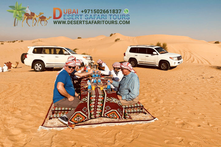 Find the best desert Safari encounters in Dubai.
