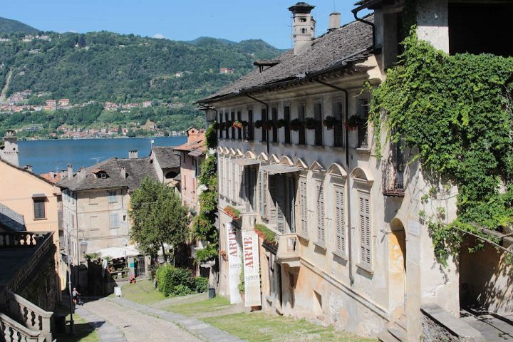 The history of Orta San Giulio and its name