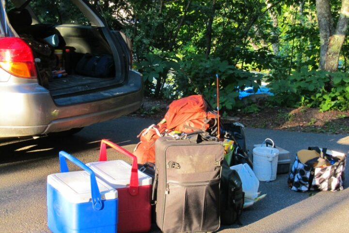 Staking Down Your Family-Camping Packing List